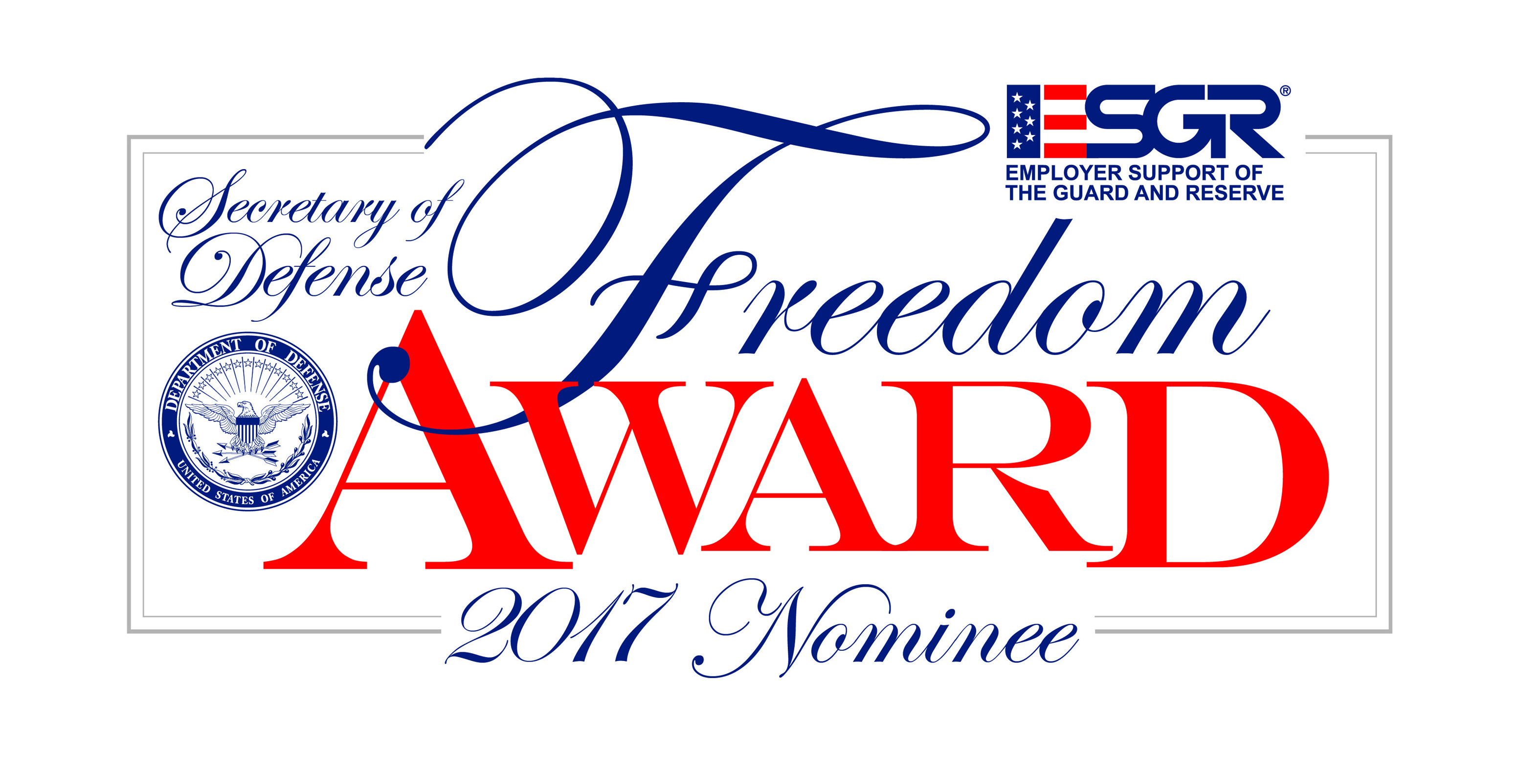 Freedom Award Slide