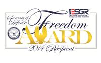 2014 Secretary of Defense Employer Support Freedom Award Recipients Announced