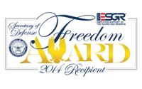 J.G. Management Systems named 2014 Secretary of Defense Employer Support Freedom Award recipient