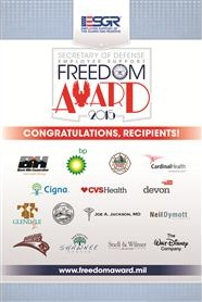 2015 Freedom Award recipients announced
